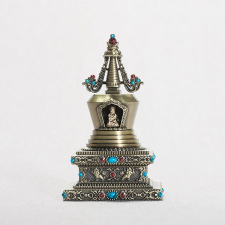 Buddhist Stupa of Complete Victory — 10 cm