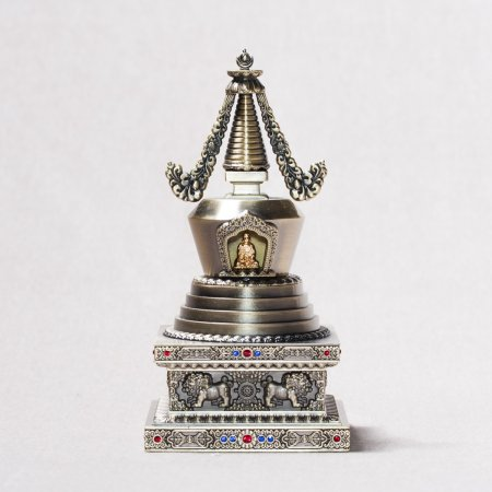 Buddhist figurine Stupa of Complete Victory : buy from our tibetan statues collection — DharmaCraft