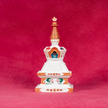 Wooden Stupa of Great Miracles — 22 cm