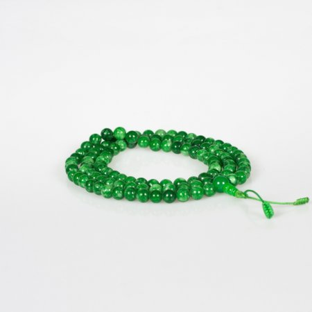Traditional 108 beads Jade Mala — 8 mm