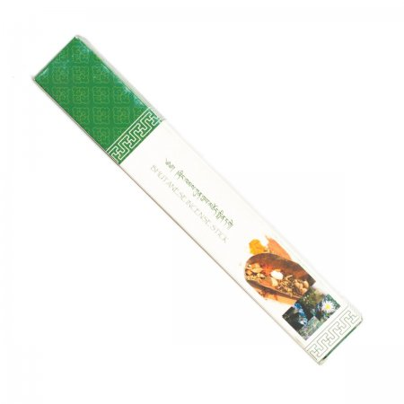"Genuine Bhutanese Incense — Nado Poizokhang, Green box, grade ""E"""