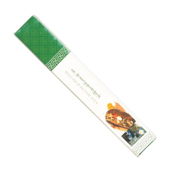 """Genuine """"Nado Poizokhang"""" Incense — Green """"E"""" grade : buy from DharmaCraft's Bhutanese High Quality Incenses collection"""