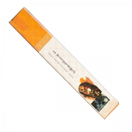 "Genuine Bhutanese Incense — Nado Poizokhang, Orange box — grade ""B"""