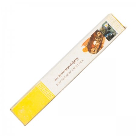 "Genuine Bhutanese Incense — Nado Poizokhang, Orange box, — grade ""C"""