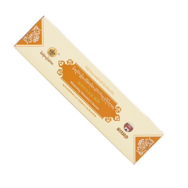 Mindroling incense from Central Tibet — Brown : buy from our genuine Tibetan High Quality Incenses collection — DharmaCraft