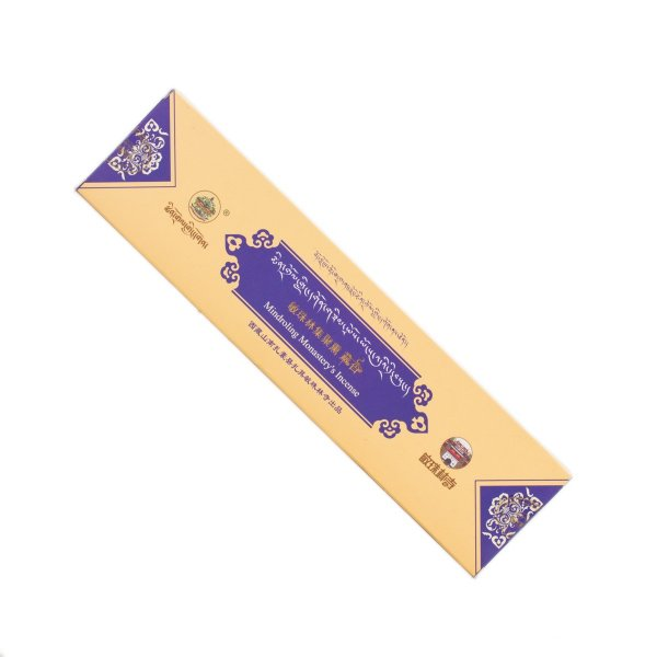Mindroling incense from Central Tibet — Blue : buy from our genuine Tibetan High Quality Incenses collection — DharmaCraft