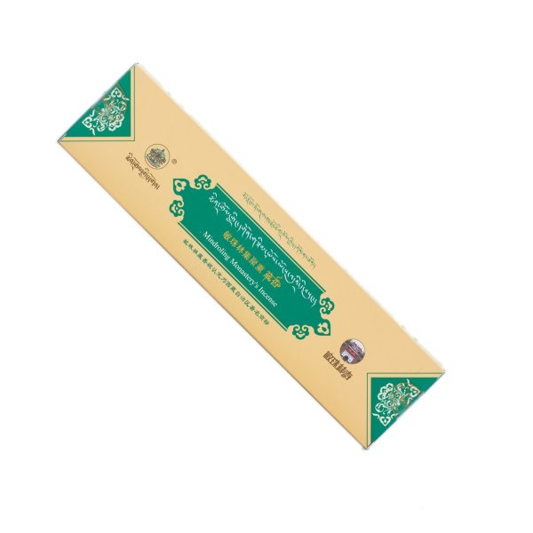 Mindroling incense from Central Tibet — Green : buy from our genuine Tibetan High Quality Incenses collection — DharmaCraft