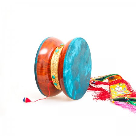 Tibetan traditional extra light drum Damaru for Chod practices : buy from our Buddhist ritual goods collection — DharmaCraft