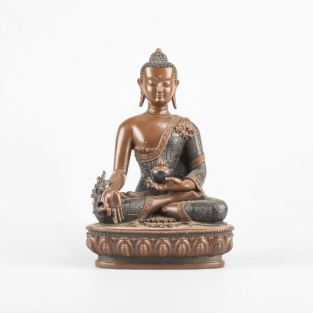 Statue of Medicine Buddha aka Menla : buy from our buddhist statues collection — DharmaCraft