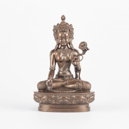 White Tara — 11 cm statue, HQ collection