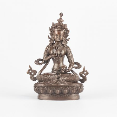 Highest Quality statues collection: Vajrasattva or Dorje Sempa, 10.5 cm statue from Kham