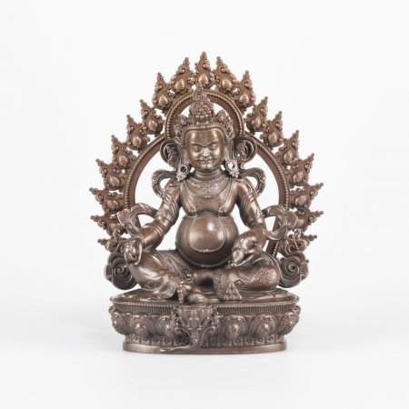 Jambhala, the God of Wealth - 12 cm statue