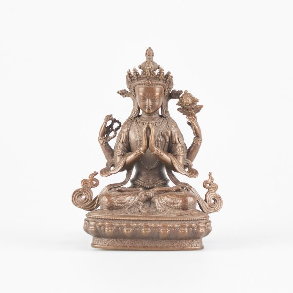 Statue of Bodhisattva Avalokitesvara : buy from our buddhist statues collection — DharmaCraft