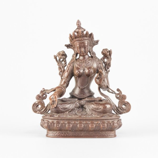 Statue of White Tara, bodhisattva of longevity : buy from our buddha statues collection — DharmaCraft