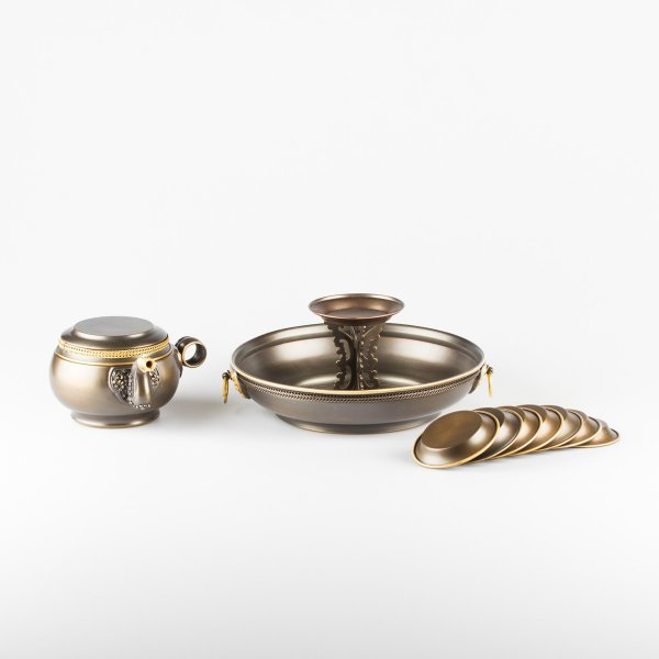 Tibetan ritual set Chutor (Water Torma) for Jambhala Offering : buy from our Buddhist ritual goods collection — DharmaCraft