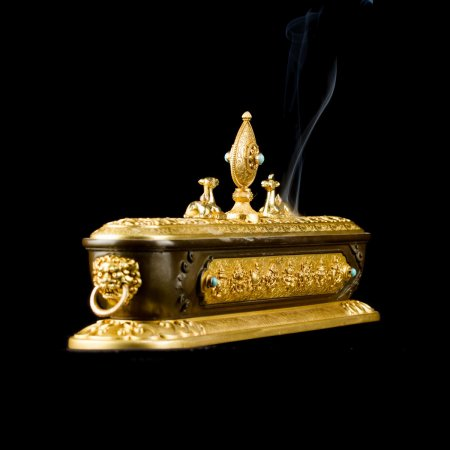 Tibetan traditional Incense Burner (censer) : buy from our Buddhist ritual goods adn accessories collection — DharmaCraft