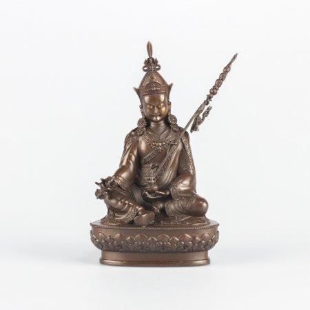 Padmasambhava (Guru Rinpoche) — 12 cm statue, HQ collection