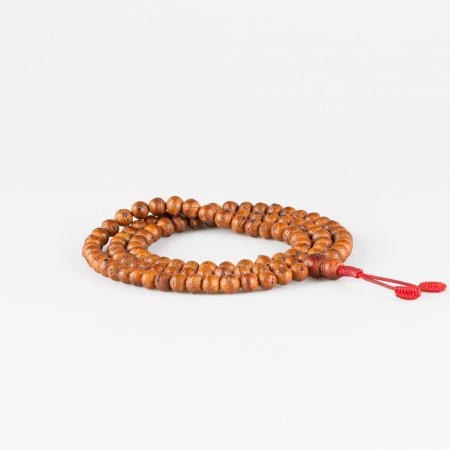 Exclusive traditional 108-bead mala from Bodhi seed: diameter — 10 mm (9.5-10.5 mm)