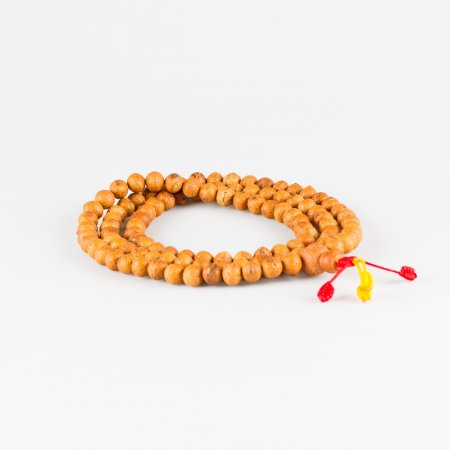 Exclusive traditional 108-bead mala from Bodhi seeds — 10.5 mm