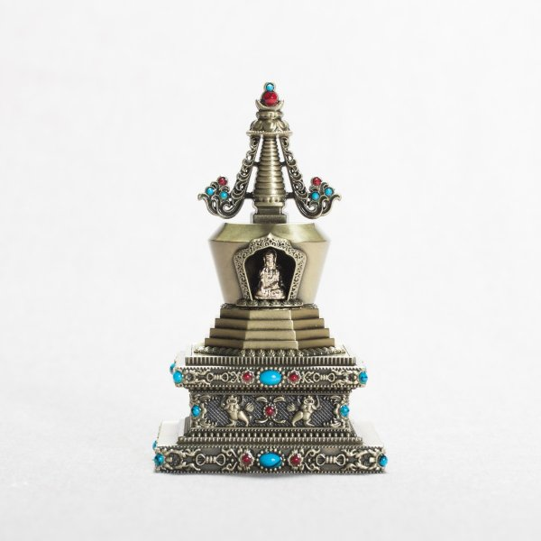 Buddhist figurine Stupa of Reconciliation : buy from our tibetan statues collection — DharmaCraft