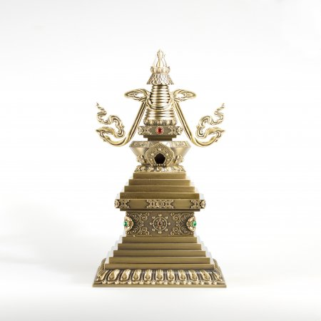 Stupa of Bonpo tradition — 40 cm