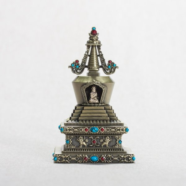 Buddhist figurine Stupa of Great Miracles : buy from our tibetan statues collection — DharmaCraft