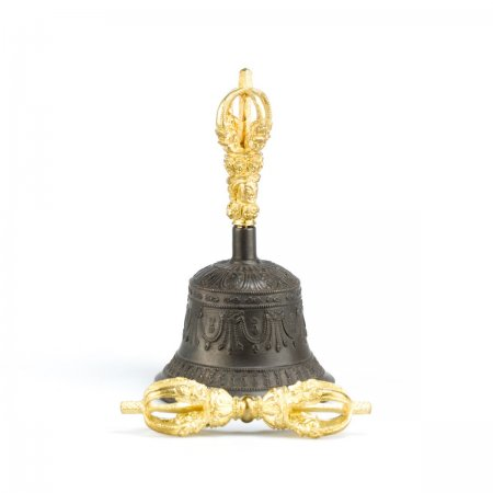 Medium-sized Ritual Bell & Dorje