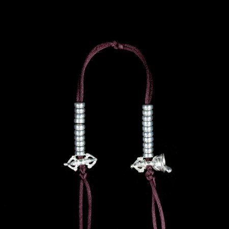 Tibetan Mala Counter made from Silver, small size — 4 mm : buy from our Buddhist ritual goods collection — DharmaCraft