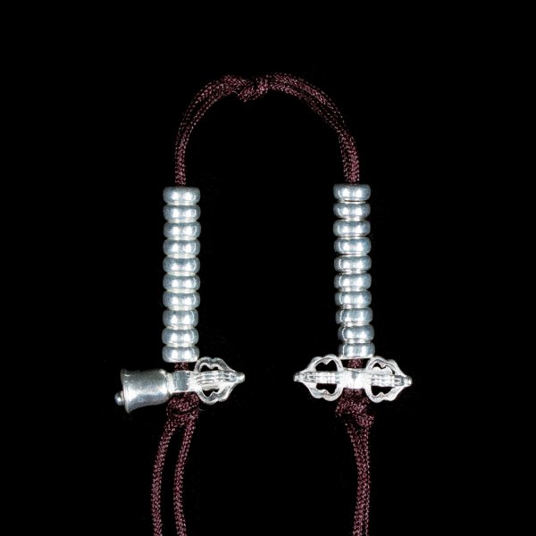 Tibetan Mala Counter made from Silver, medium size — 6 mm : buy from our Buddhist ritual goods collection — DharmaCraft