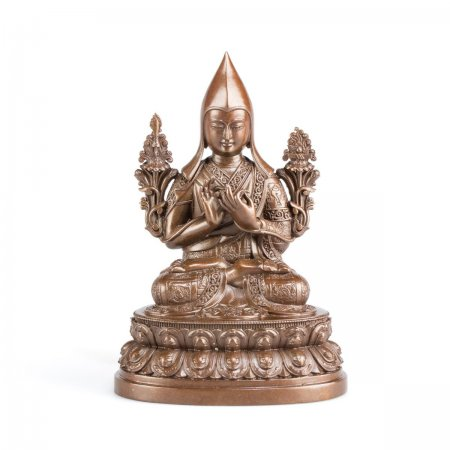 Exclusive Highest Quality statues collection: Lama Tsongkhapa, 11 cm