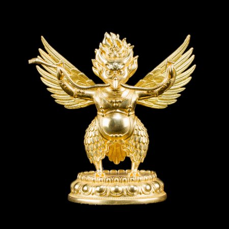 Statue of Garuda aka Suparna, bird-like creature : buy from our buddha statues collection — DharmaCraft