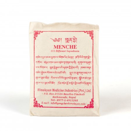 Menche-111 powder mix of 111 different ingredients used for different buddhist rituals.