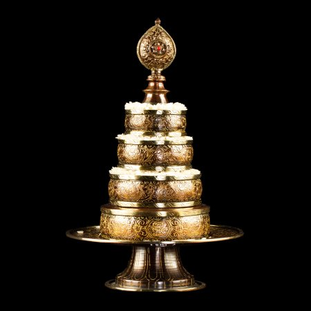 Tiny Buddhist mandala set from Nepal : buy from our Tibetan ritual goods collection — DharmaCraft