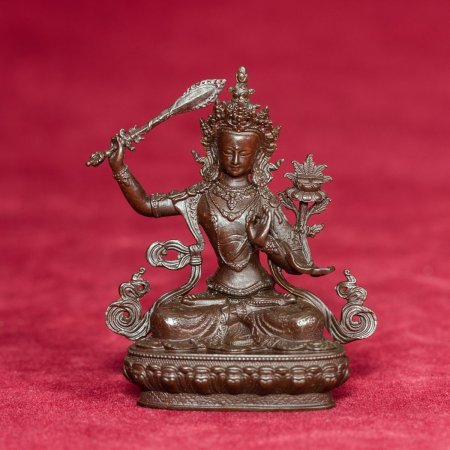 Statue of bodhisattva Manjushree aka Jampel : buy from our buddha statues collection — DharmaCraft